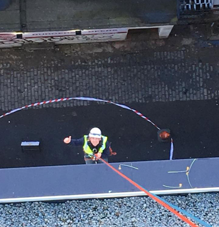 Rope Access Cleaning Edinburgh