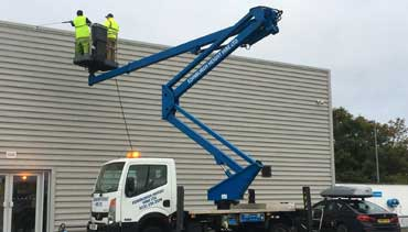 Cherry Picker Hire Edinburgh D Amp A Lawrence Ltd
